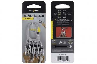 Брелок для ключей BigFoot Locker (stainless) Nite Ize
