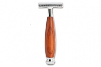Бритвенный станок Safety Razor Resin (Plum Wood) Böker