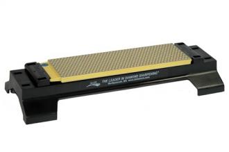 Алмазный брусок 8'' DuoSharp на подставке Coarse/Fine #325/600 DMT, США
