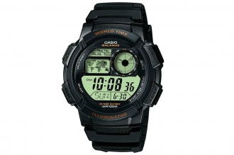 Часы наручные Casio Collection AE-1000W-1A в пластиковом корпусе