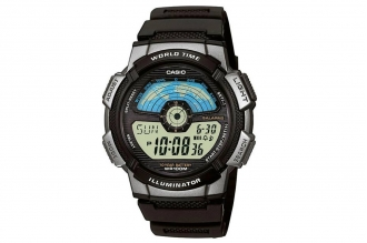 Часы Casio Collection AE-1100W-1A в пластиковом корпусе