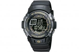 Часы спортивные Casio G-Shock G-7710-1E противоударные и водонепроницаемые, в ко