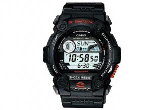 Часы спортивные Casio G-Shock G-7900-1E противоударные и водонепроницаемые, в ко