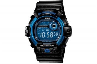 Часы спортивные Casio G-Shock G-8900A-1E противоударные и водонепроницаемые, в к