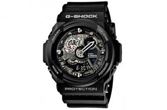 Часы Casio G-Shock GA-300-1A противоударные и водонепроницаемые, с защитой от во