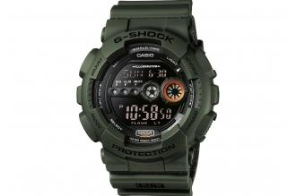 Часы стильного дизайна Casio G-Shock GD-100MS-3E противоударные и водонепроницае