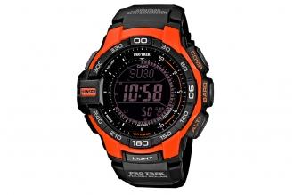 Часы Casio PRO TREK PRG-270-4E со сверхмощной автоматической светодиодной подсве