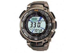 Часы Casio PRO TREK PRG-240Т-7E с браслетом из титанового сплава
