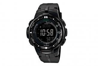 Часы мужские Casio PRO TREK PRW-3000-1A с функцией повтора будильника