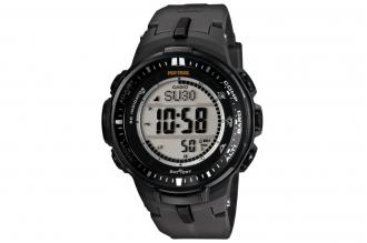 Часы мужские Casio PRO TREK PRW-3000-1Е антрацитового цвета