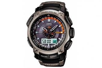 Часы мужские Casio PRO TREK PRW-5000-1E в аналого-цифровом варианте