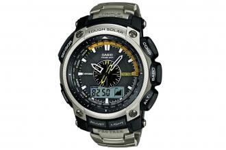 Часы Casio PRO TREK PRW-5000T-7E в корпусе из металла и пластика