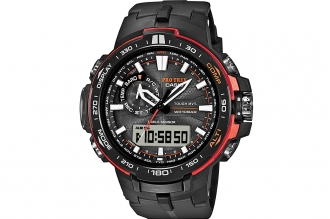 Часы Casio PRO TREK PRW-6000Y-1E в корпусе из пластика