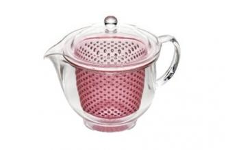 Чайник заварочный ударопрочный 0.48 л Akebono (розовый)