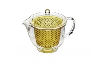 Чайник заварочный ударопрочный 0.48 л (золотой) Akebono
