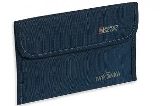 Практичный чехол для паспорта Travel Folder RFID (navy) Tatonka