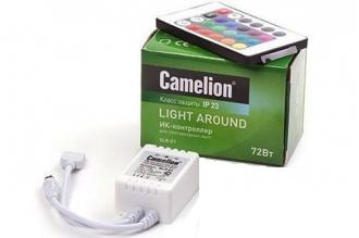 ИК-контроллер и пульт для светодиодных лент SLR-01, Camelion