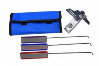 Набор для заточки ножей DMD-Kit EZE-LAP, США, из трех алмазных брусков