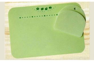 Гибкая разделочная доска со скребком производства Kasumi, Япония