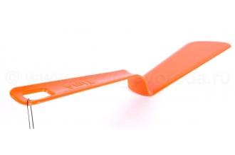 Лопатка для блинов пластиковая (оранжевая), Tima
