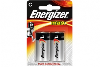 Батарейка тип С Max LR14 (2 шт.), Energizer