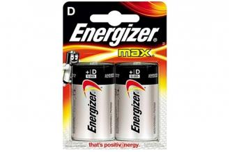 Батарейка тип D Max LR20, Energizer