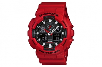 Часы Casio G-Shock GA-100B-4A