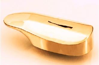 Гарда для рукояти ножа глянцевая 439 (латунь)