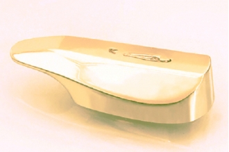 Гарда для рукояти ножа глянцевая 440 (латунь)