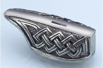"""Гарда для рукояти ножа """"Кельтский орнамент"""" 476 (латунь)"""