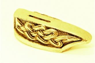 """Гарда для рукояти ножа """"Кельтский орнамент"""" 484 (латунь)"""