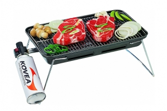 Газовый гриль Slim Gas Barbecue Grill Kovea