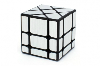 Головоломка Fisher Cube (серебряно-зеркальная) Fanxin