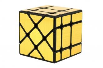 Головоломка Fisher Cube (золото-зеркальная) Fanxin