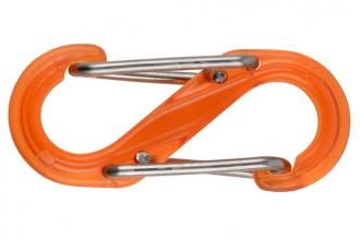 Карабин двусторонний S-Biner #2 (4,5 kg, orange) Nite Ize, США