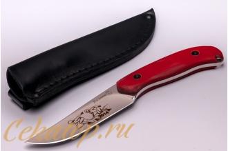 Нож «Касатка 2014 Бег на коньках» (красный) Кизляр, Россия