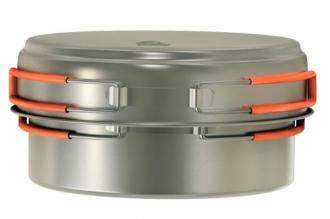 Кастрюля титановая Titanium Cookware 1250 ml TS-017 NZ, Россия