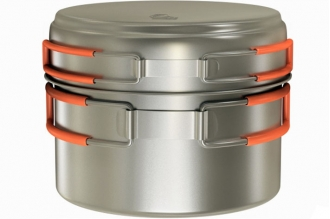 Кастрюля титановая Titanium Cookware 800 ml TS-012 NZ, Россия