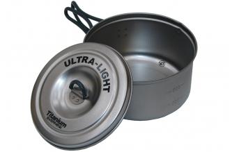 Кастрюля титановая Ultra-Light ECA252 Evernew