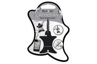 Катушка для проводных наушников Curvyman (черная) Nite Ize, США