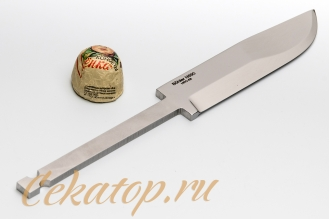 Клинок ножа «Швед» (сталь N690) Лебежь, Россия