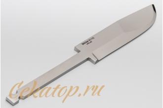 Клинок ножа «Швед» (сталь K110) Лебежь, Россия