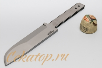 Клинок ножа «Швед» (сталь K340) Лебежь, Россия