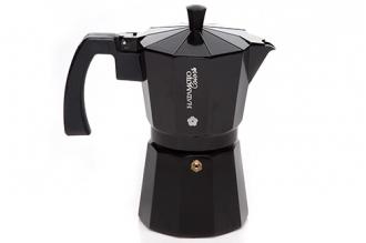 Кофеварка гейзерная Hatamoto Color BLK-6CUP