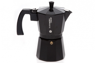 Кофеварка гейзерная Hatamoto Color BLK-9CUP