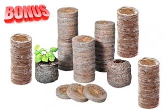 Бонус-пак: кокосовые таблетки Jiffy-7C 30 мм в количестве 300 шт. по спец. цене