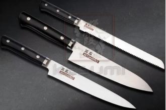 Комплект из 3 кухонных ножей SET 3 Knife Masahiro, Япония