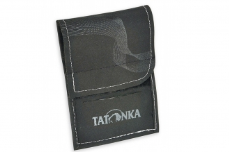 Кошелек шейный HY Neck Wallet (black-carbon) Tatonka