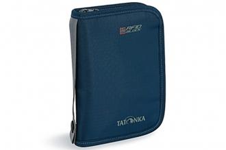 Компактный кошелек Travel Zip M RFID (navy) Tatonka