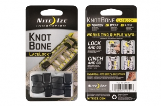 Крепление для шнурков KnotBone LaceLock 2 шт. Nite Ize, США